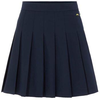 J.Lindeberg Women's Adina Golf Skirt - Navy - FW21