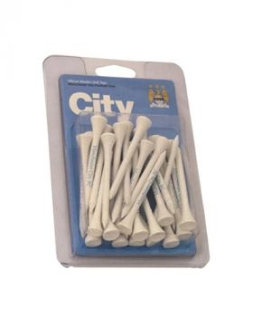 MANCHESTER CITY WOODEN TEES (PK30)