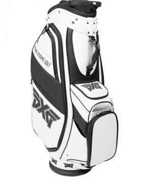 PXG Black and White Cart Bag