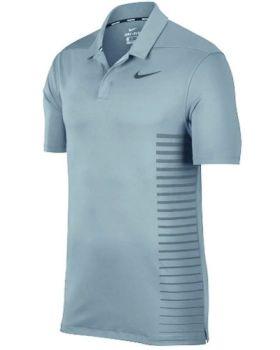 Nike Dry Standard Fit Polo - Ocean Bliss/Black