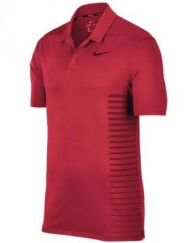 Nike Dry Standard Fit Polo - Tropical Pink/Gym Red/Black