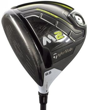 Very Good Condition Taylormade M2 Driver 9.5* with Fujikura Pro XLR8 56 Regular Flex Shaft - Left Hand