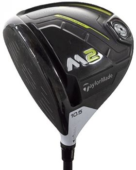 Excellent Condition Taylormade M2 Driver 10.5* with PX Hzrdus 6.5 Shaft - Left Hand