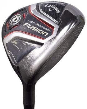 Excellent Condition Callaway Big Bertha Fusion 5* Fairway Wood with Recoil 450 F3 Regular Shaft