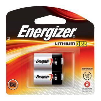 ENERGIZER CR2 3V LITHIUM BATTERY (2 pack) for Bushnell Rangefinders
