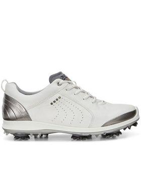 Ecco Women's Biom G 2 Golf Shoes - White/Silver (Size 10-10.5)