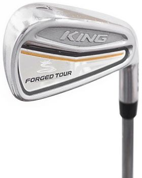 Excellent Condition Cobra King Forged Tour Irons 4-PW* with PX LZ 120g 6.0 Shaft