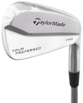 Excellent Condition Taylormade Tour Preferred Irons 5-9,PW* with KBS Tour Stiff Flex Shaft