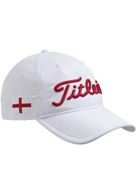 TITLEIST ENGLAND FLAG GOLF CAP - WHITE