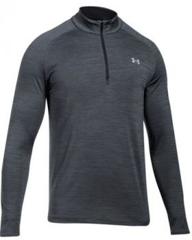 Under Armour Playoff ¼ Zip Long Sleeve Shirt - Black
