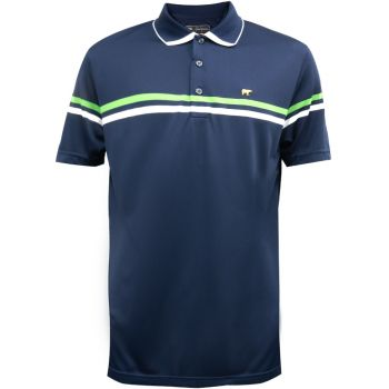 Jack Nicklaus Regimental Color Block Polo - Classic Navy