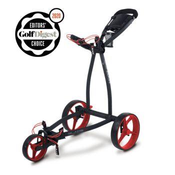 Big Max Blade IP Push Cart Trolley - Phantom/Red