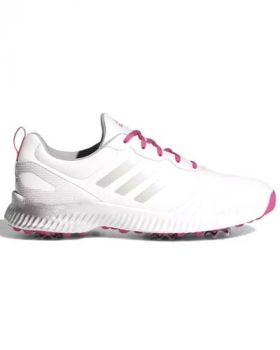 Adidas Women's Response Bounce Golf Shoes - White/Magenta/ Silver