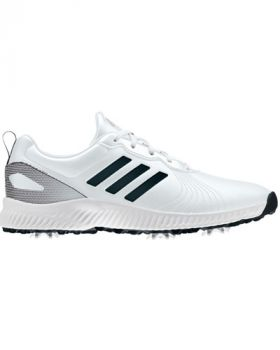 Adidas Women's Response Bounce Golf Shoes - Ftwr White/Core Black/Silver Metallic