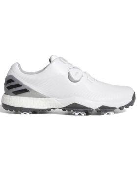 Adidas Adipower 4orged Boa Golf Shoes - Ftwr White/Grey Six/Silver Metallic