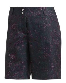 Adidas Women's Printed Shorts - Shock Pink