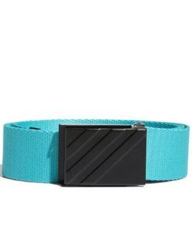 Adidas Webbing Belt - Hi-Res Aqua