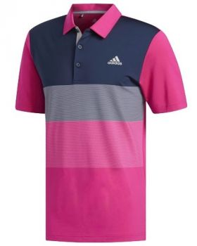 Adidas Ultimate 365 Gradient Polo Shirt - Real Magenta
