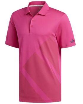 Adidas Bold 3-Stripes Polo Shirt - Real Magenta