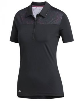 Adidas Women's Ultimate 365 Polo Shirt - Black