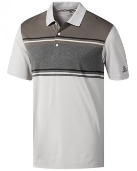 Adidas Ultimate365 Competition Polo Shirt - White/Grey