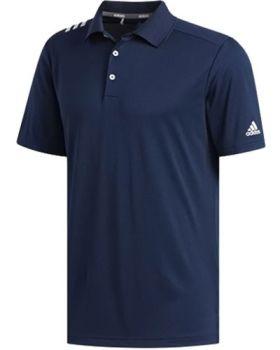Adidas 3-Stripes Polo Shirt - Collegiate Navy / White