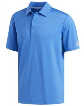 Adidas Ultimate365 Solid Crestable Polo Shirt - True Blue/Grey Two