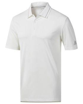 Adidas Ultimate365 Polo Shirt - White/Grey Two