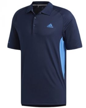 Adidas Ultimate365 Climacool Solid Polo Shirt - Collegiate Navy/True Blue