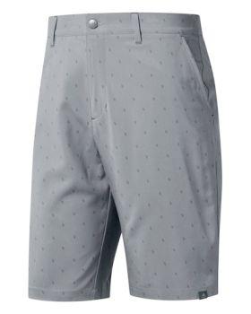 Adidas Ultimate 365 Print Golf Shorts - Grey