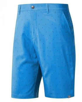 Adidas Ultimate 365 Print Golf Shorts - Dark Marine/Blue