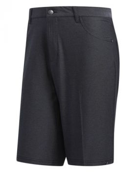 Adidas Ultimate365 Heather Five-Pocket Shorts - Black Heather