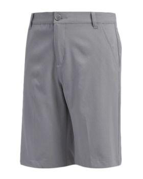 Adidas Junior Solid Golf Shorts - Grey