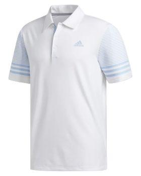 Adidas Ultimate365 Gradient Polo Shirt - White