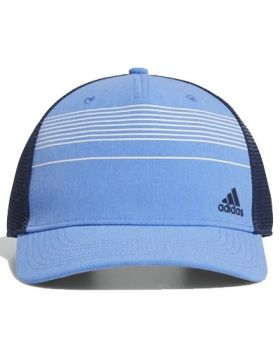 Adidas STRIPED TRUCKER HAT - Real Blue Mel