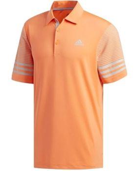 Adidas Ultimate365 Gradient Polo Shirt - Hi-Res Coral