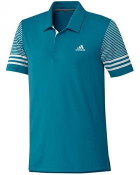 Adidas Ultimate365 Gradient Polo Shirt - Active Teal