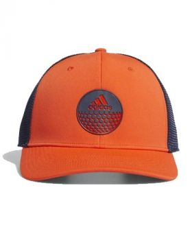 Adidas Globe Trucker Hat - Active Orange
