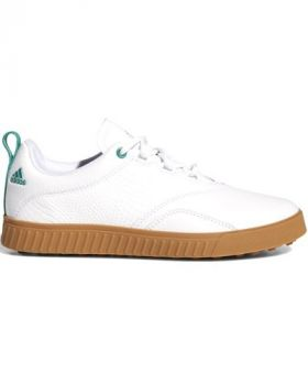 Adidas Women's Adicross PPF Golf Shoes - Cloud White/ Sub Green/ Gum