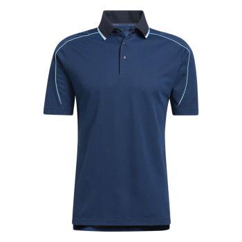 Adidas Men's No Show Polo Shirt - Night Navy/Night Marine