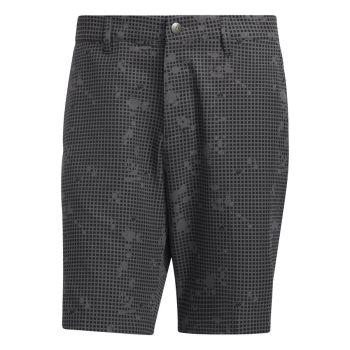 Adidas Men's Ultimate 365 Primegreen Print Golf Short - Black