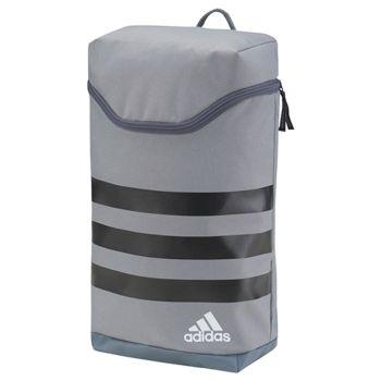 Adidas Men's 3 Stripe Golf Shoe Bag - Grey