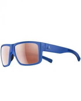 Adidas Matic Sunglasses - Blue Transparent Matte