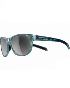 Adidas A425 Wildcharge Sunglasses - Green Frame/Silver Lens