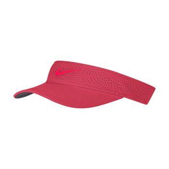 Nike Women's Aerobill Visor - Fusion Red/Anthracite/Bright Crimson