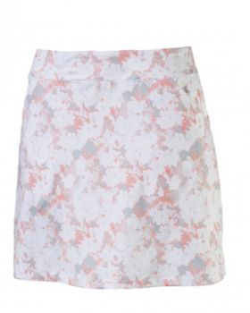 Puma Women's Floral Knit Skirt - Bright White