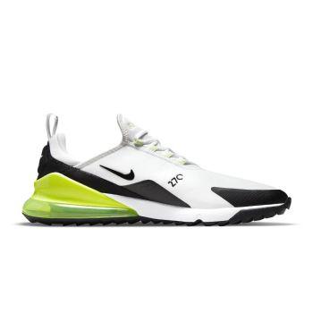Nike Men's Air Max 270 G Golf Shoes - White/Volt/Barely Volt/Black