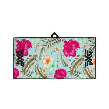 PXG Aloha Floral Golf Towel