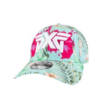 PXG Women's Aloha All Over 9twenty Cap Adjustable - White