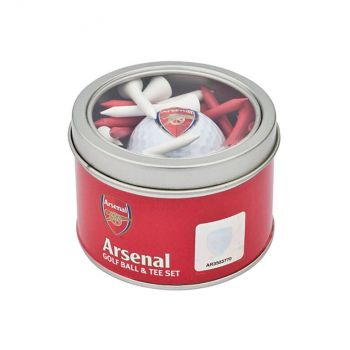 ARSENAL GOLF BALL AND TEE SET